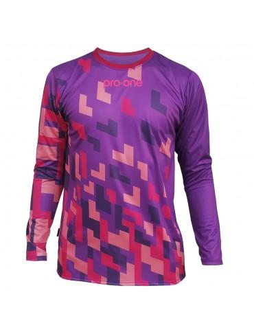 Camiseta de Arquero Pro-One Pixel Morado