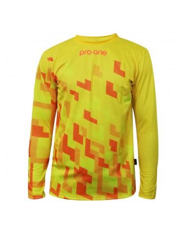 Camiseta de Arquero Pro-One Pixel Amarillo (Infantil)