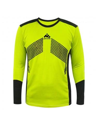 Camiseta de Arquero Pro-One Premier Amarillo Neón/Negro