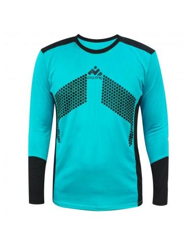 Camiseta de Arquero Pro-One Premier Celeste/Negro