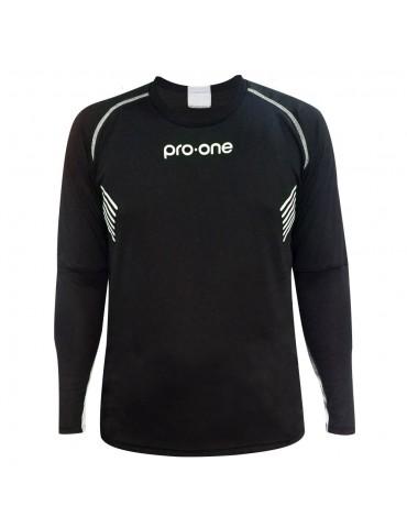 Camiseta de Arquero Pro-One Tempo Negro/Blanco