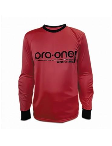 Camiseta de Arquero Pro-One Keeper Training Rojo