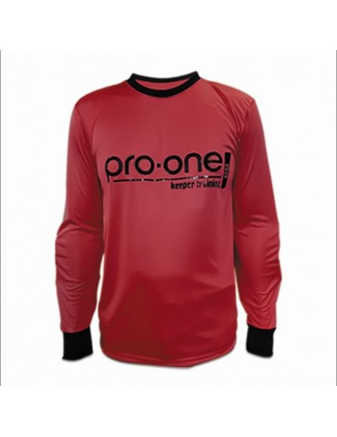 Camiseta de Arquero Pro-One Keeper Training Rojo (Niños)