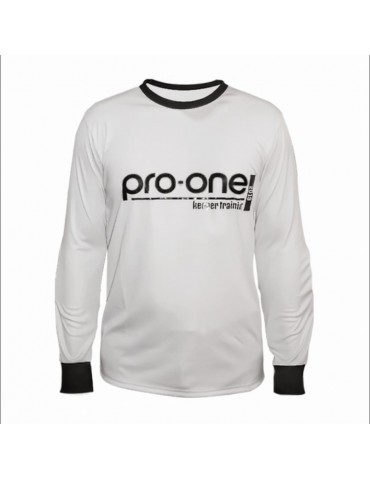 Camiseta de Arquero Pro-One Keeper Training Gris Claro (Niños)