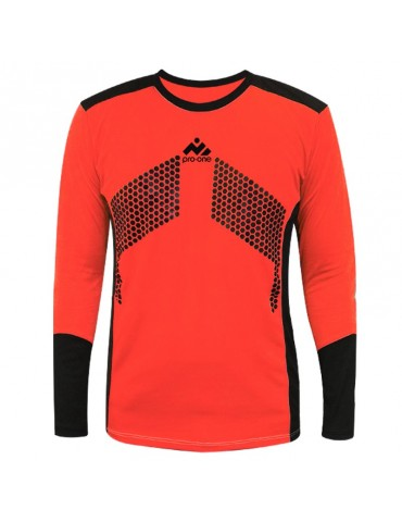 Camiseta de Arquero Pro-One Premier Coral/Negro (Niños)