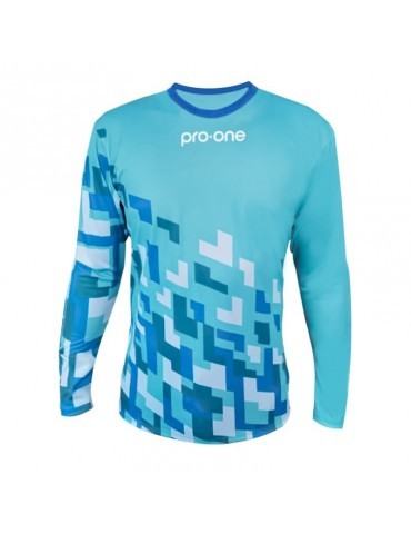 Camiseta de Arquero Pro-One Pixel Celeste (Infantil)