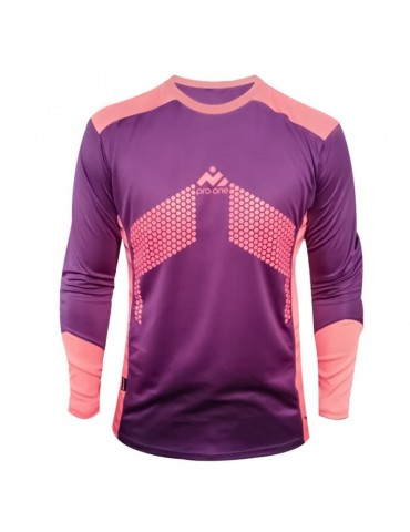 Camiseta de Arquero Pro-One Premier Morado/Rosado