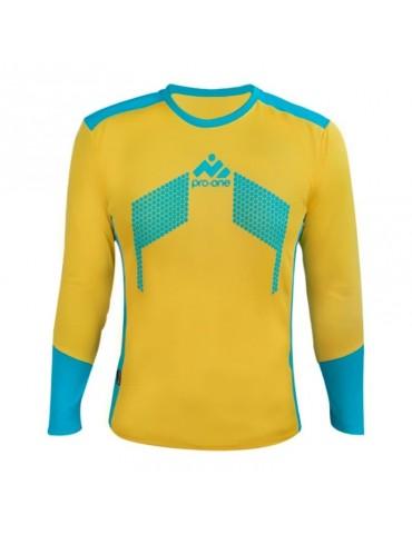 Camiseta de Arquero Pro-One Premier Amarillo/Turquesa