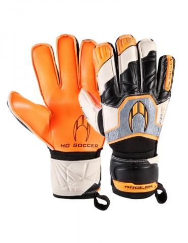 Guantes HO Soccer Basic Protek Flat Orange