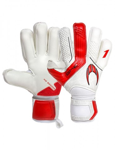 Guantes HO Soccer One Negative Speed Red