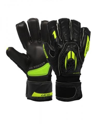 Guantes HO Soccer One Protek Black Lime