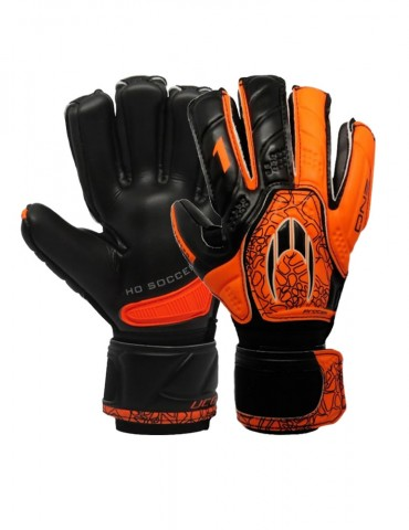 Guantes HO Soccer One Protek Black Orange