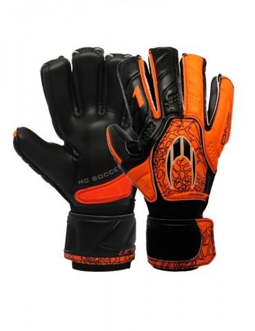 Guantes HO Soccer One Protek Black/Orange
