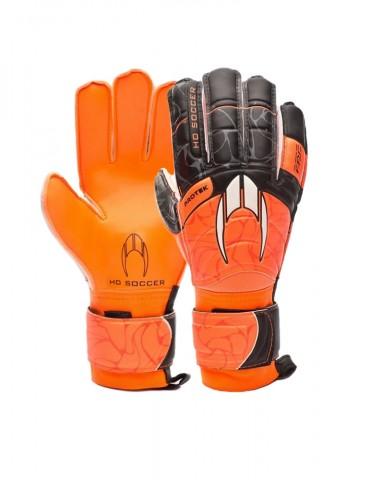 Guantes HO Soccer Primary Protek Flat Orange Black