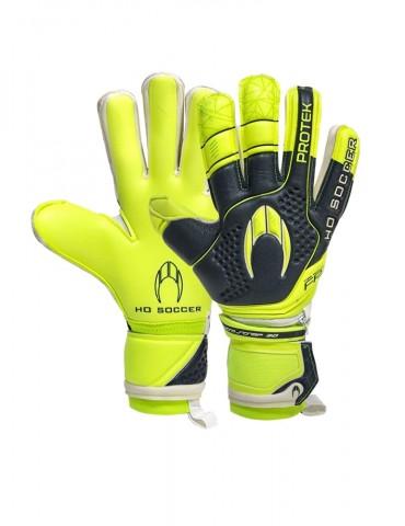 Guantes HO Soccer Protek Pro Negative Neon Lime