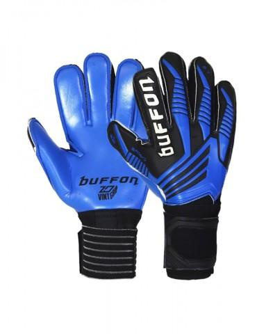 Guantes Buffon Semipro Varilla Cyborg Negro Azul Azul