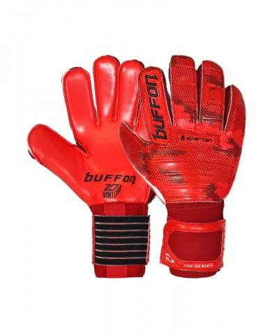 Guantes Buffon Semipro Spartan Rojo/Rojo/Negro